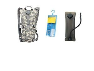 ACU-Camelbak-CORDURA-THERMOBAK-Hydration-System-100oz-Bladder-amp-New-Cleaning-Kit