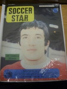 14-03-1969-Soccer-Star-Weekly-Magazine-Vol-17-No-27-Features-Arsenal-Jon