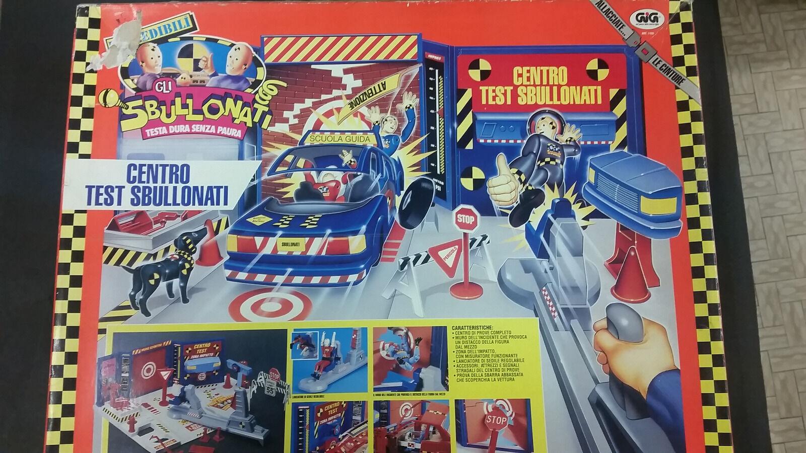 GIG CENTRO TEST SBULLONATI - 1991