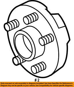 chrysler town and country wheel bearing wiring diagram database 2017 Chrysler Coupe chrysler oem rear wheel hub bearing 68184746ae ebay chrysler town and country lwb chrysler town and country wheel bearing