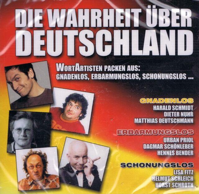HÖRBUCH-CD NEU/OVP - Die Wahrheit über Deutschland - Mit Harald Schmidt u.a.