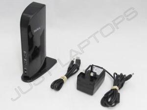 StarTech-Windows-7-8-8-1-10-USB-3-0-Dock-Station-Port-Replicateur-W-PSU-GB