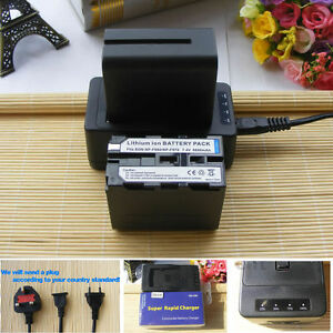 2X-NP-F970-Battery-Rapid-Charger-for-YN300-YN600-Sony-NP-F770-NP-F950-NP-F960