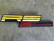 1992 CAMARO 25TH ANNIVERSARY RS DASH EMBLEM BADGE GM ORIGINAL