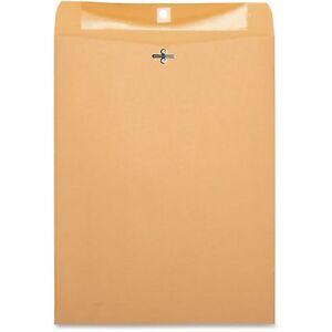 "Business Source Clasp Envelopes 28 lb. 10""x13"" 100/BX Brown Kraft 36665"