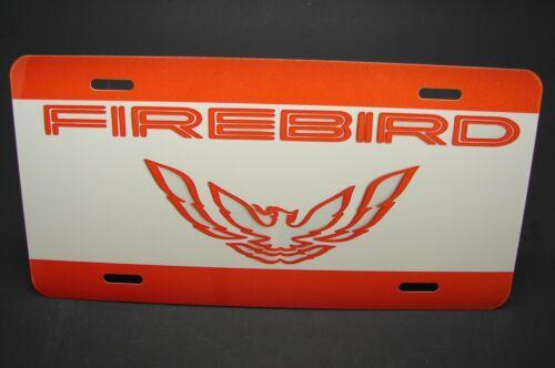 FIREBIRD TRANS AM LICENSE PLATE FOR CARS  PONTIAC METAL ALUMINUM