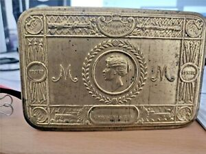 WW1 Collectable Princess Mary Christmas Fund 1914 Brass Gift Box