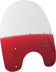 Memphis Shades 21 Repl Plastic Detachable King Size Windshield Gradient Ruby