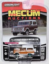 A.S.S NEU GreenLight 1//64 Ford Bronco Ranger Mecum Auctions GL Select Collector3