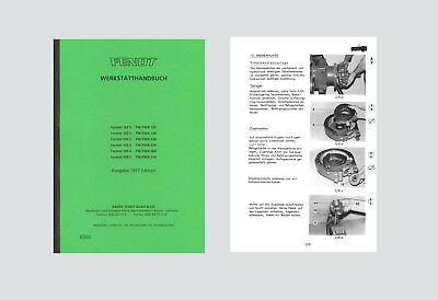 100% Wahr Fendt Farmer 102 S - 108 S Werkstatthandbuch Schlepper Angenehm Bis Zum Gaumen