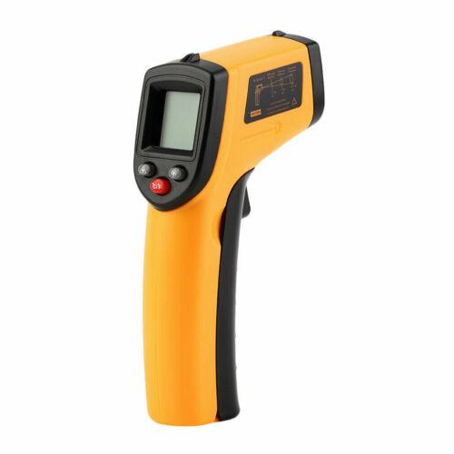 Infrarot Thermometer Pyrometer LCD Laser Temperatur IR Distanz 12:1-50~380℃ Neu