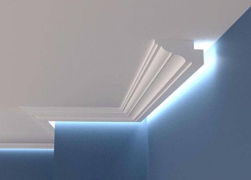 XPS COVING BGX9 LED Lighting cornice molding -=BEST PRICES=- LARGE GrößeS QUALITY