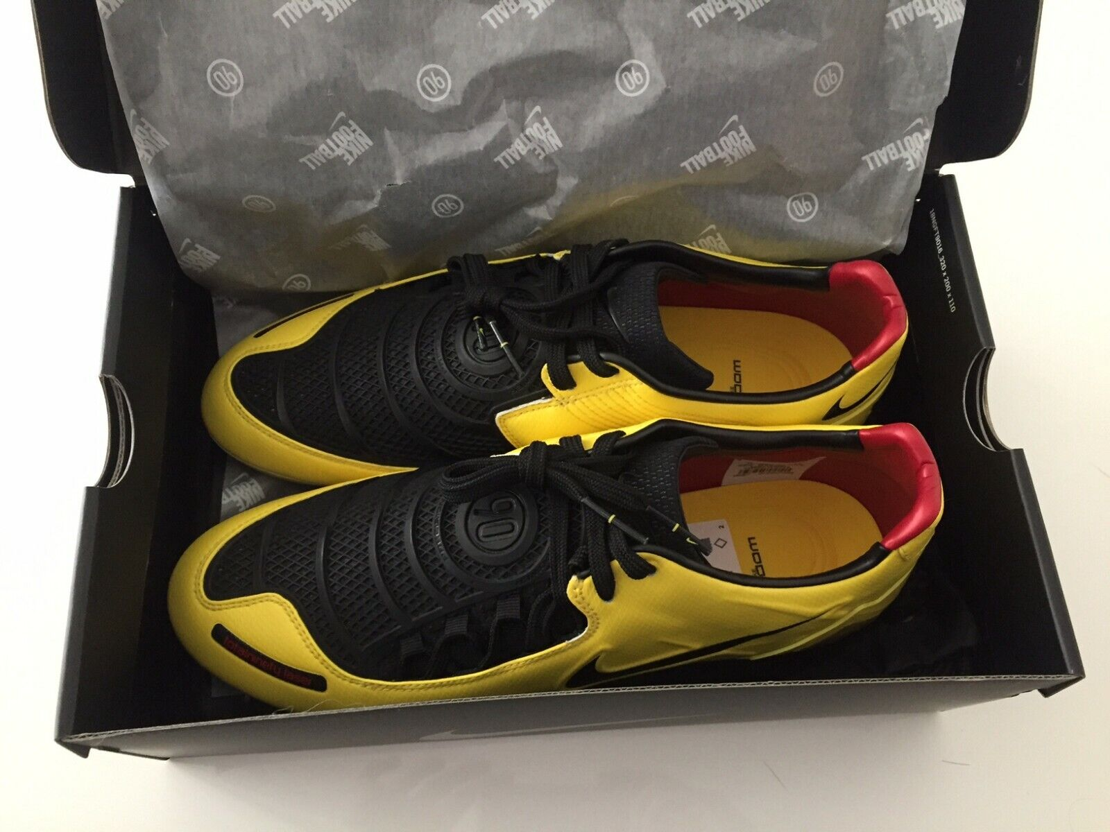 Nike T90 Laser I remake 2019 yellow total 90 11us total 90 rooney torres NEW