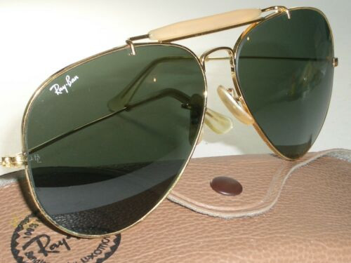1980's 62MM VINTAGE B&L RAY-BAN L2112 GEP G15 OUTD