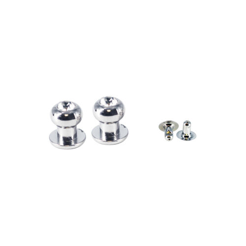 100pcs Crystal Diamante Plastic Studs Chicago Knob Rivets Pin for Leathercrafts