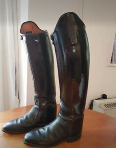 Patent Konig Grandgester dressage boots size 6 - Ross-on-Wye, United Kingdom - Patent Konig Grandgester dressage boots size 6 - Ross-on-Wye, United Kingdom