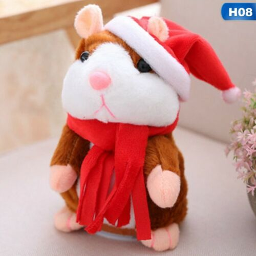 Cheeky Talking Hamster Talk Hampster Speak Record Voice Plush Funny  Kids Toy US
