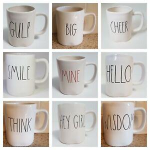 Rae-Dunn-WORDS-Coffee-Mug-You-Pick-Your-Word-NEW