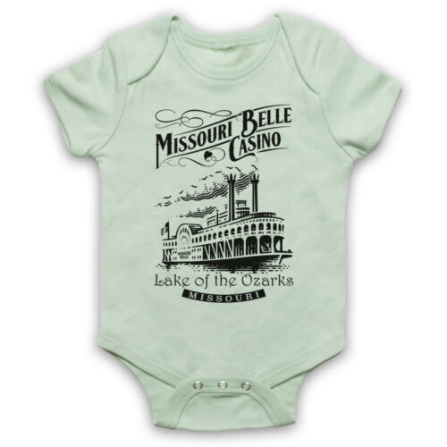 OZARK MISSOURI BELLE CASINO RIVERBOAT BOAT MARTY BYRDE BABY GROW BABYGROW GIFT