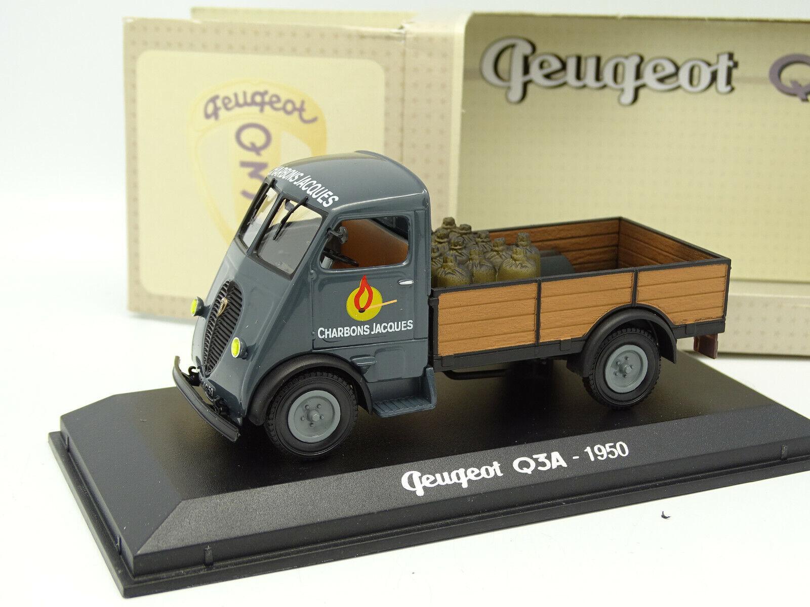 Norev 1 43 - peugeot q3a coal jacques