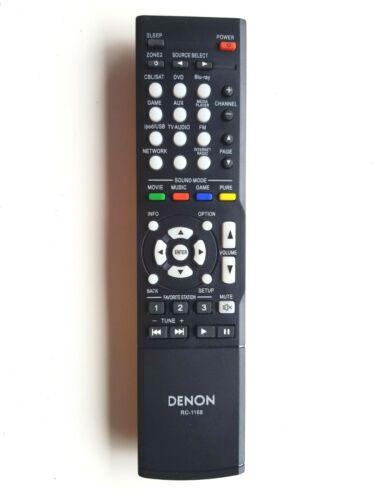 NEW ORIGINAL DENON RC-1168 REMOTE CONTROL 30701010300AD RC1168 AVR1613 AVR1713