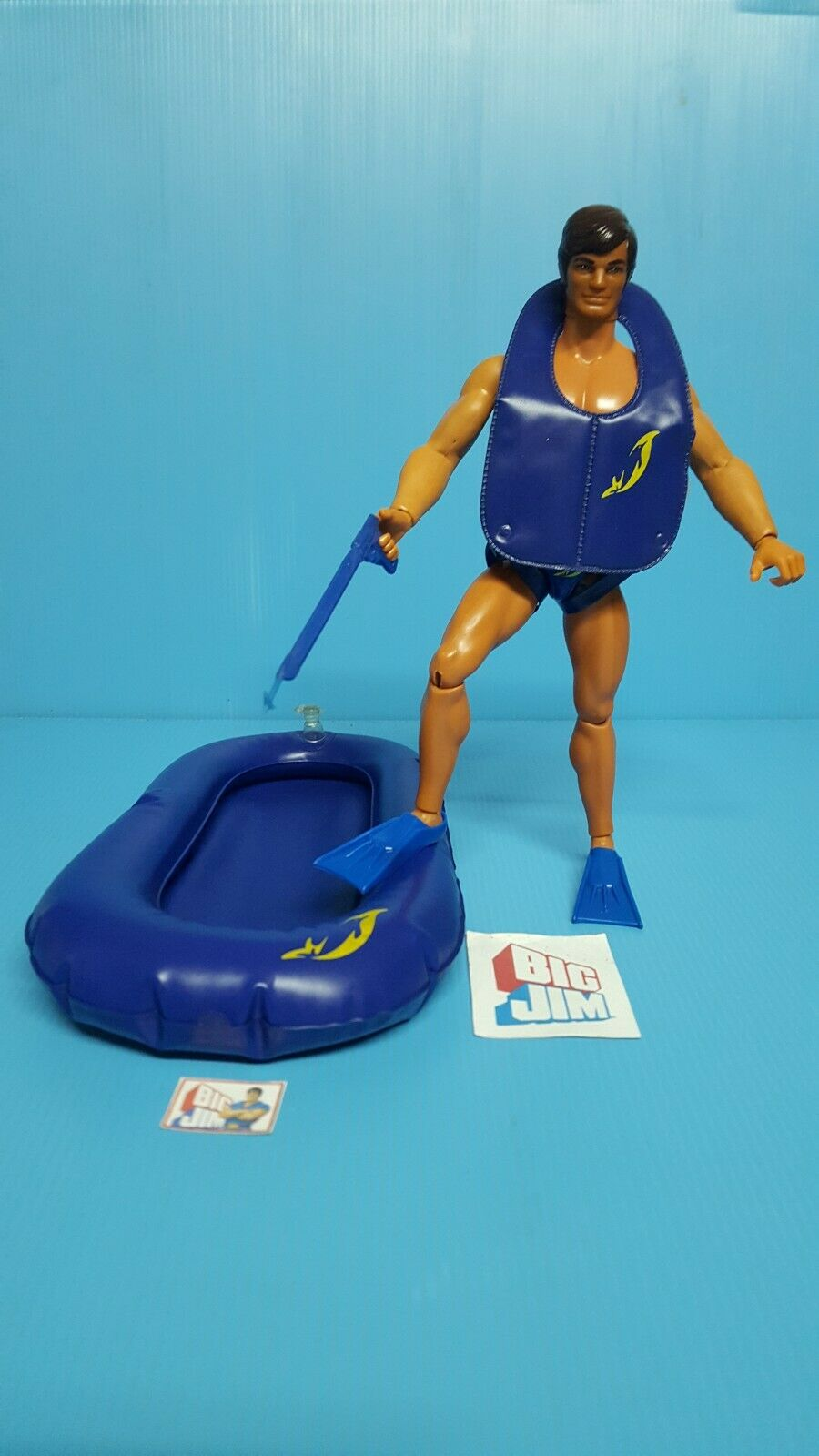 Big Big Big Jim,    PLONGEUR DAUPHIN    action Joe, mattel 3b11e5