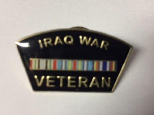 Iraq War Veteran Hat or Lapel pin-1 1//4 x 5//8 inch MILITARY UNITED STATES NEW