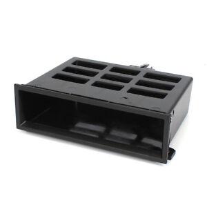 Neuf-Noir-Tableau-de-Bord-Centre-Rangement-Casier-Boite-pour-VW-Jetta-Golf-MK4