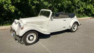 1955 CITROEN TRACTION AVANT CONVERTIBLE