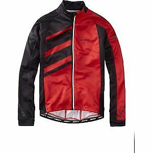 Madison Sportive Race men's long sleeve thermal roubaix jersey, red XX-large