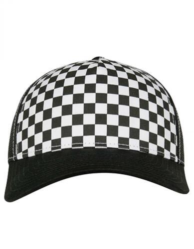 Checkerboard Retro TruckerFLEXFIT