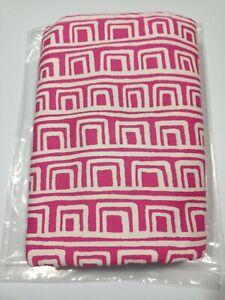 Glenna Jean Millie Skirt Geometric Print  - Pink - Size: Queen