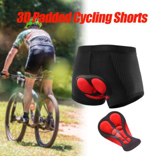 Mens Cycling Shorts Mountain Road Bike Bicycle Riding 3D Padded Pants