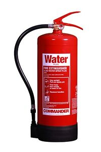 NEW 6 LTR WATER FIRE EXTINGUISHER -