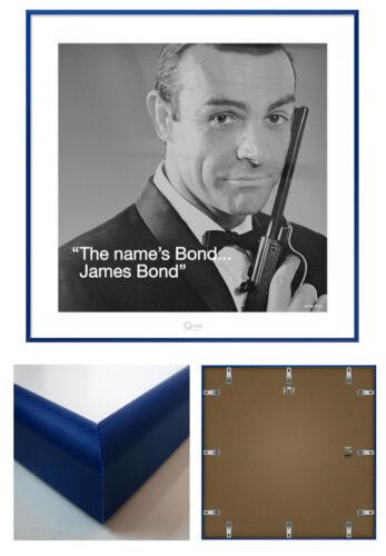 "SIZE: 16/"" x 16/"" JAMES BOND SEAN CONNERY FRAMED ART PRINT POSTER"