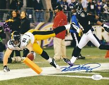 Heath Miller Pittsburgh Steelers Autographed//Signed 8x10 Photo JSA 130075 Autographed NFL Photos