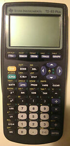 Texas Instruments TI-83 Plus Graphing Calculator in Good Condition TI-83+ TI83+
