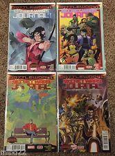 Secret Wars JOURNAL  #1 2 3 4  lot 2015 Marvel - battleworld avengers no digital
