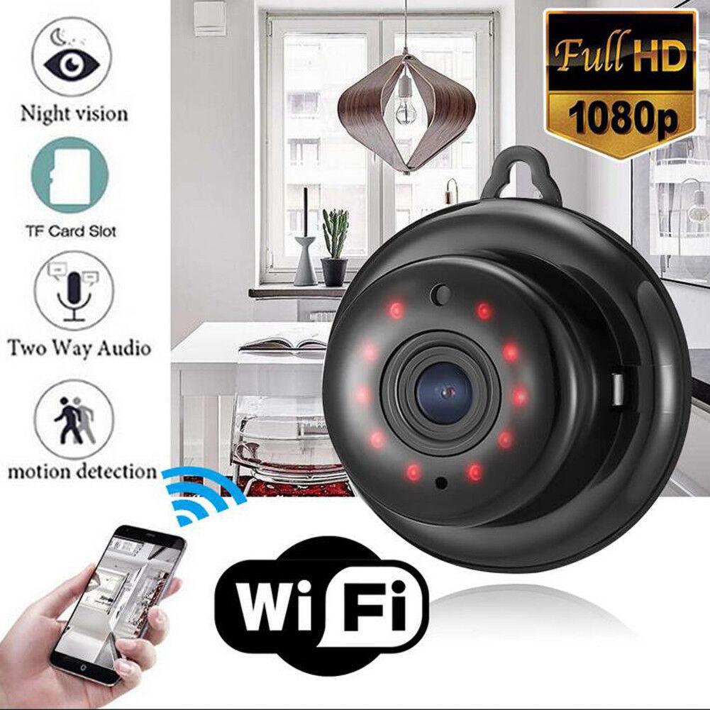 1080P Wifi IP Caméra de Surveillance Sans fil Vision HD Nuit Sécurité  Extérieur 4