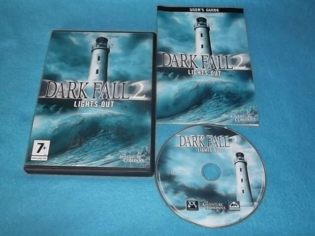 DARK FALL 2 LIGHTS OUT PC CD-ROM V.G.C. FAST POST ( action/adventure )