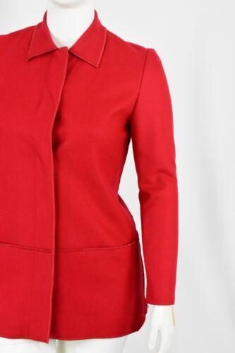 Plakat Bernard Top Harve Coat 8 Collection Hidden Wool Størrelse Bright Red Kvinders 1qaA4wZa