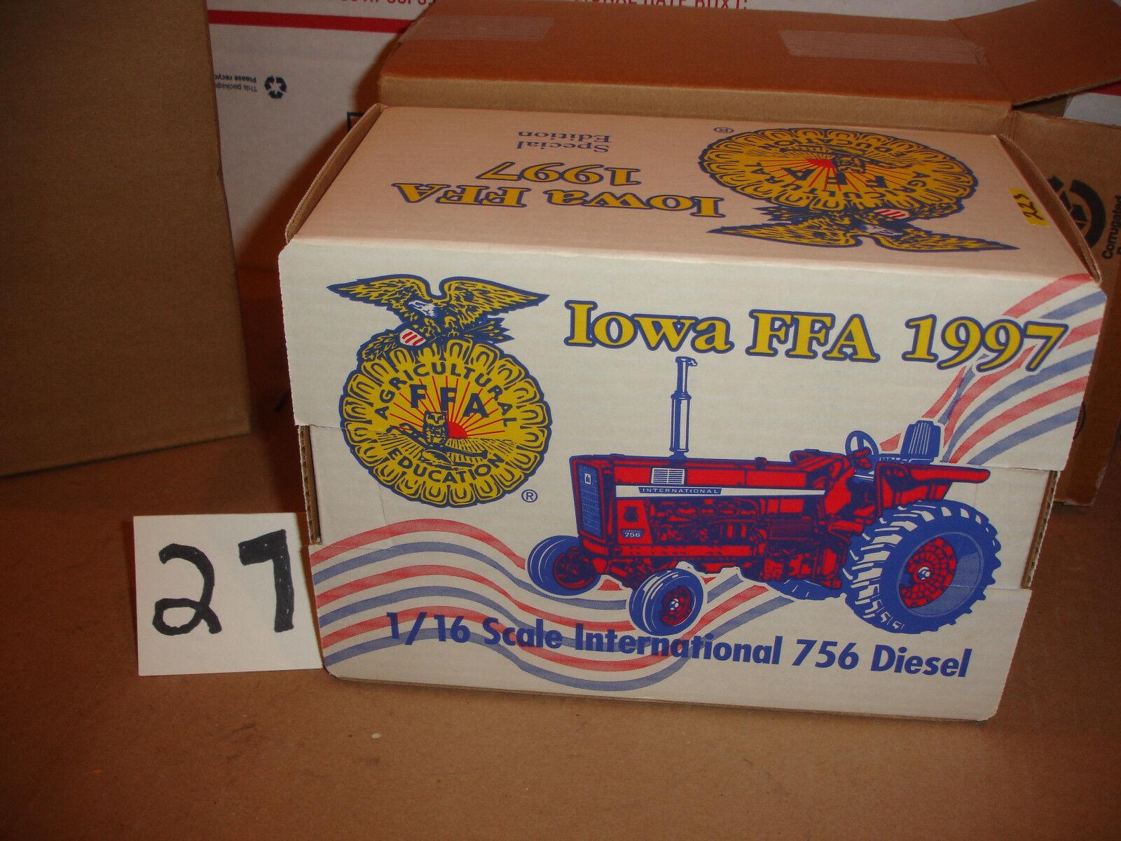 1 16 international 756 iowa ffa toy tactor