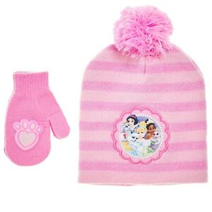 e4c2e015ad6 Image is loading Disney-Princess-Palace-Pets-Cinderella-Girl-Pink-Beanie-
