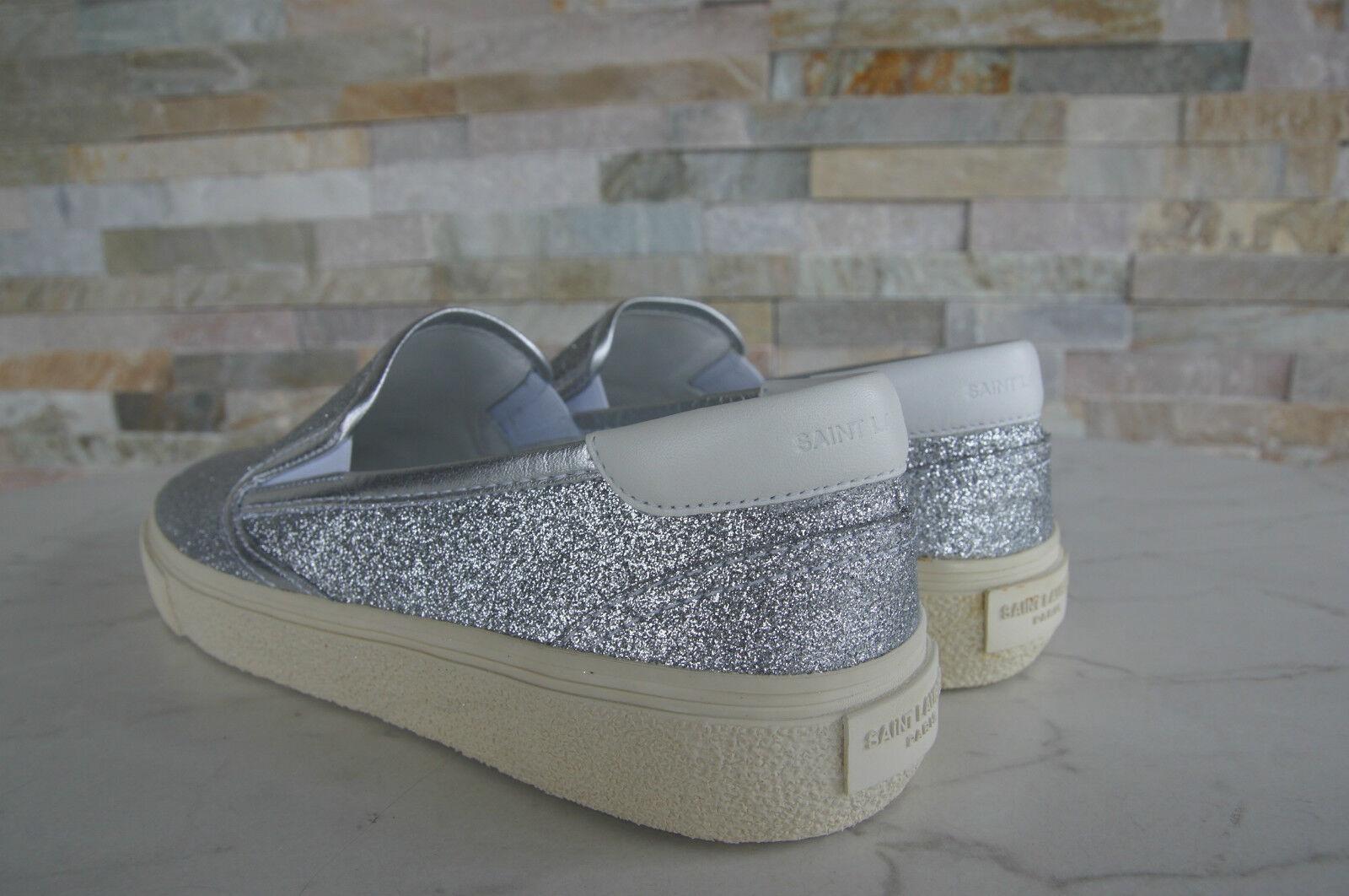 Saint Laurent Gr 43 zapatos resbalón de mocasines zapatillas zapatos nuevos zapatos 43 d71f8d