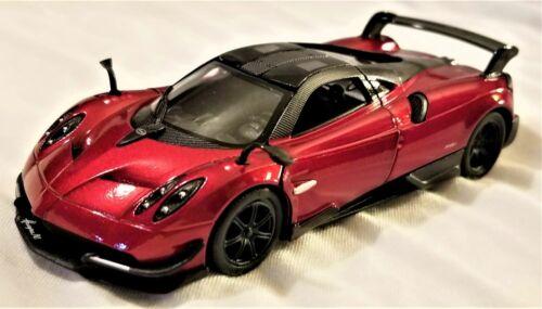 1:38 Scale Model Pagani Huayra BC Red Kinsmart BBKT5400DR
