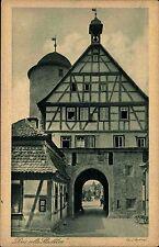 """AK Hommel """"altes Stadttor"""" BRAUNECK b. Niedersteinach Ansichtskarte ca. 1920"""