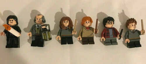 LEGO Harry Potter Whomping Willow lot of 6 Minifigures /& accessories only 75953