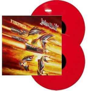 JUDAS PRIEST - Firepower Limited Rotes / Red Vinyl 2 LP im geprägten Klappcover - Hamburg, Deutschland - JUDAS PRIEST - Firepower Limited Rotes / Red Vinyl 2 LP im geprägten Klappcover - Hamburg, Deutschland