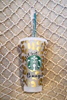 Classy Bougie Leopard Starbucks Cup
