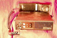 Motorola Maxtrac 100 Radio Model D33mja73a5ck With Hand Set